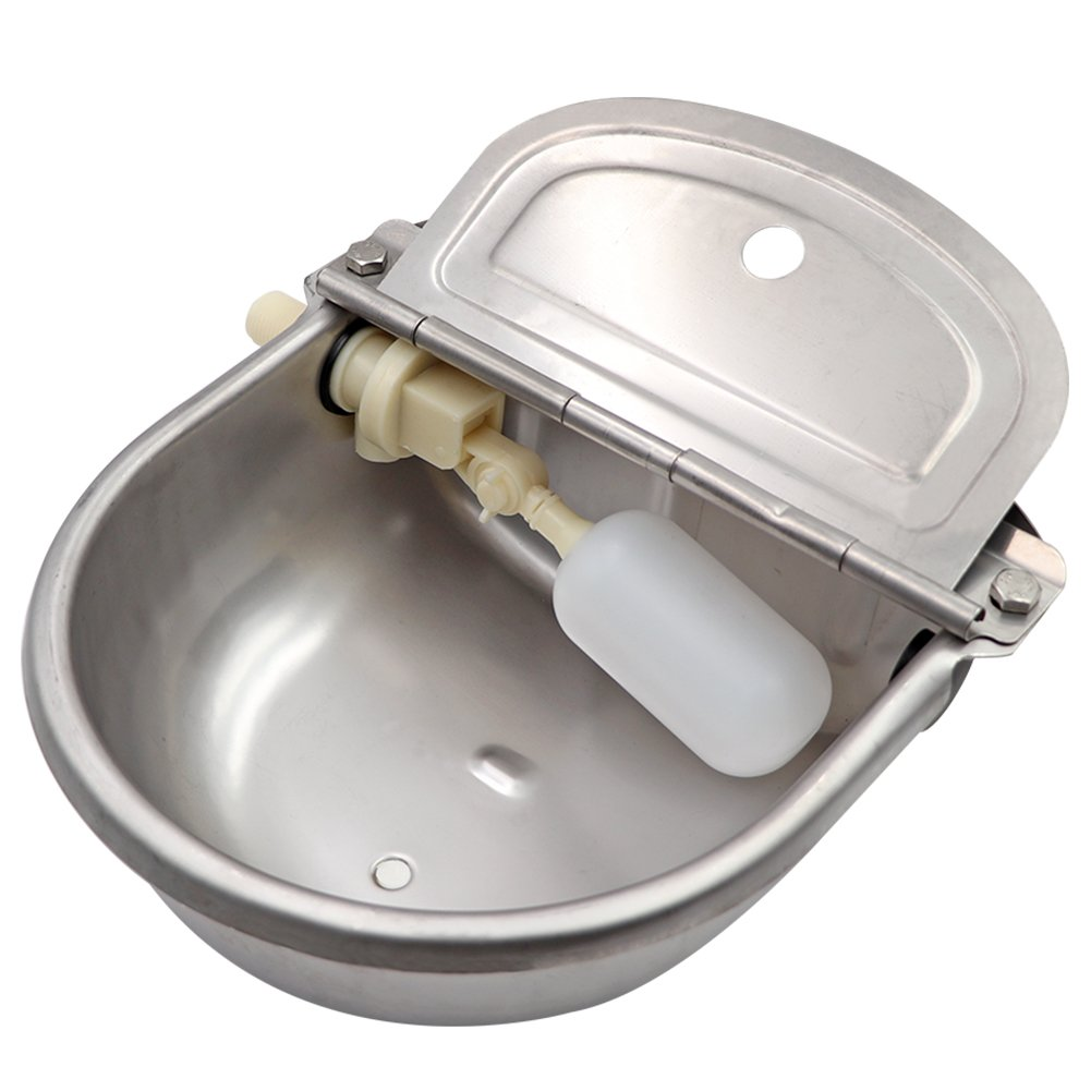 MACGOAL Stainless Steel Automatic Horse Waterers