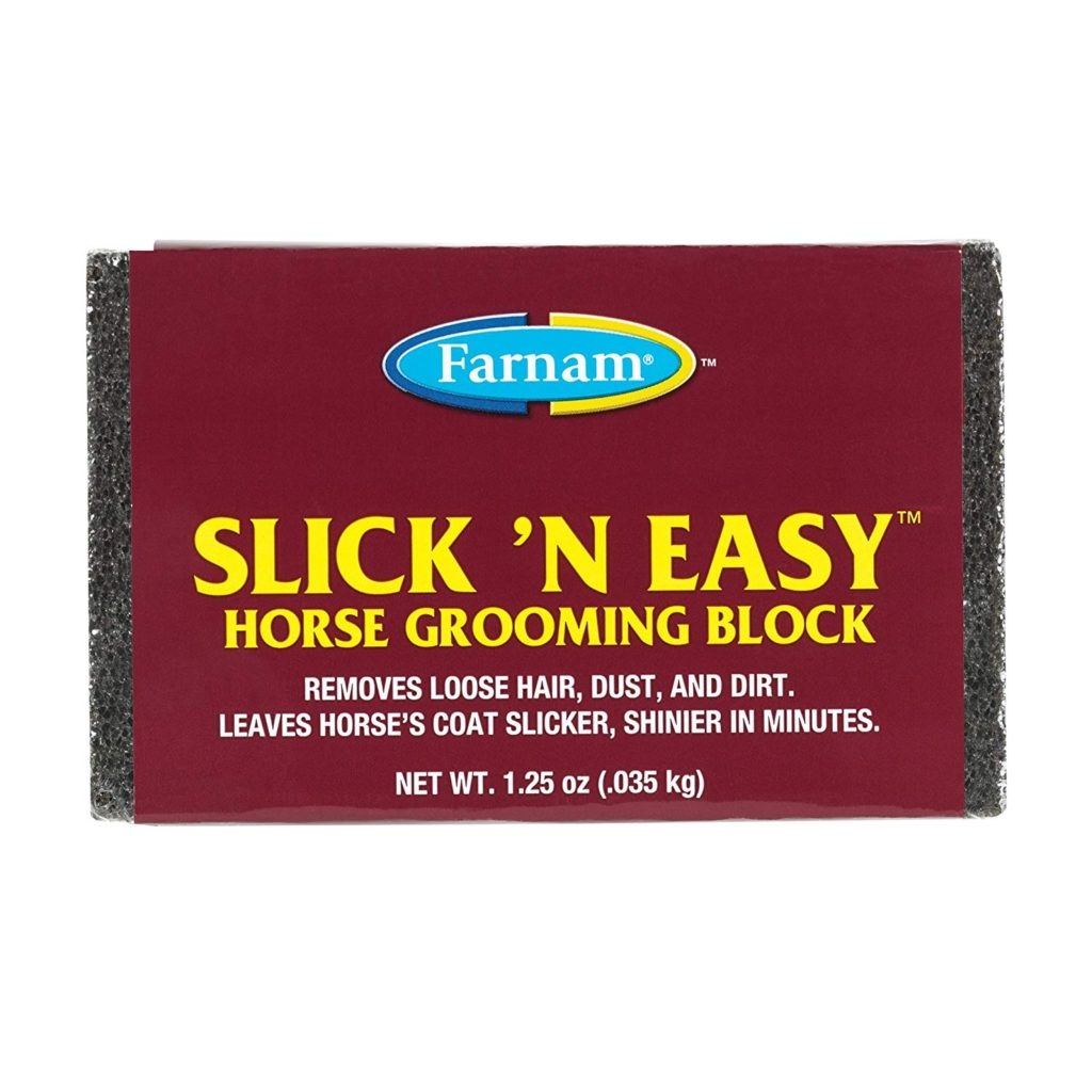 Farnam Slick 'N Easy Grooming Block Best Horse Deshedding Tools
