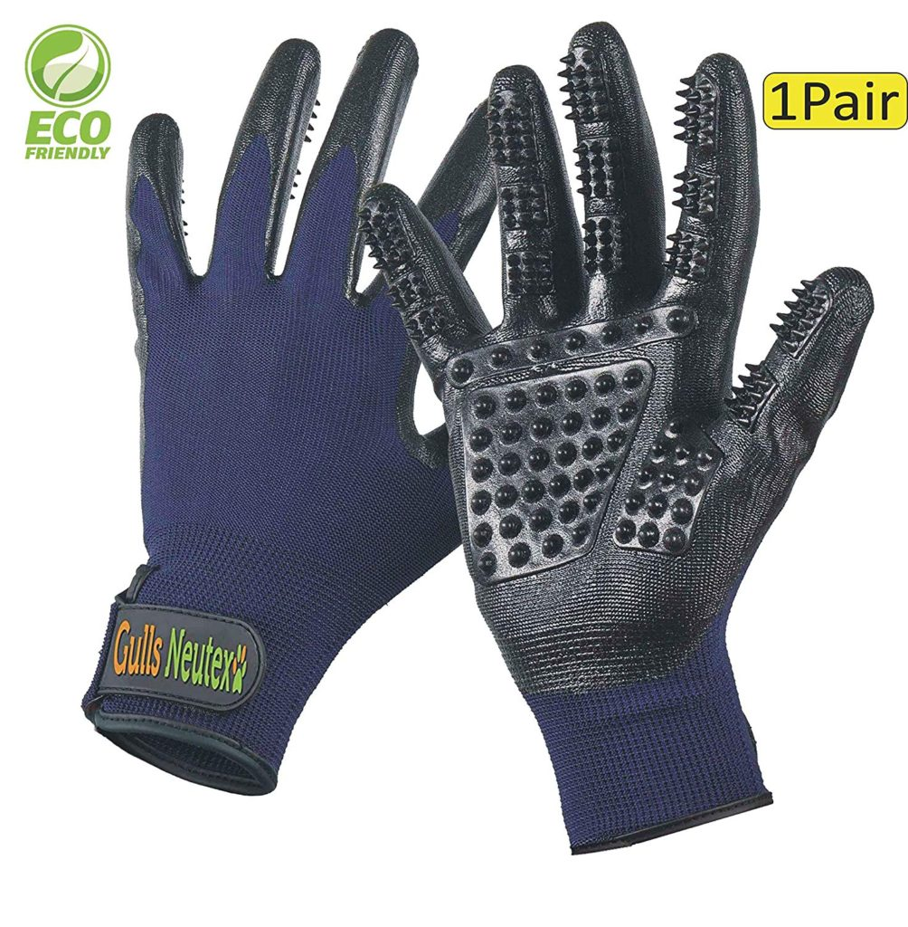 Gulls Neutexo Grooming Glove Best Horse Deshedding Tools