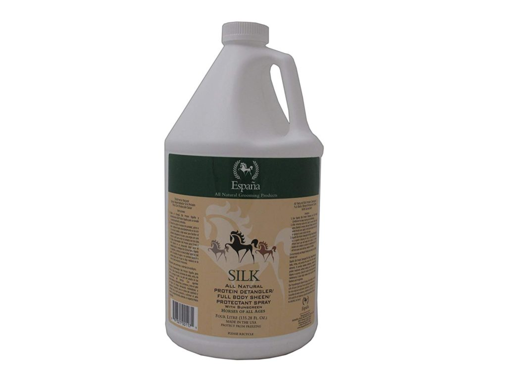 Espana Silk Specially Formulated Silk Protein Best Horse Detangler