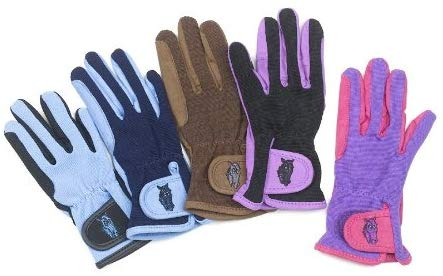 Ovation Pony Horse Riding Gloves for Kids