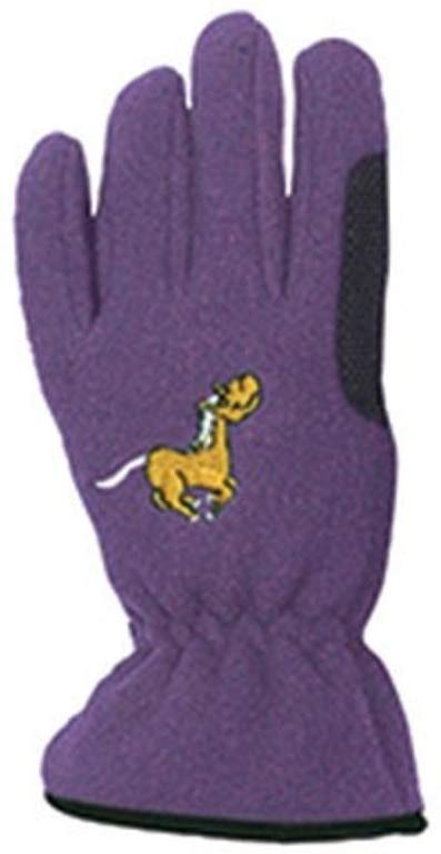 Equi-Star Pony Fleece Horse Riding Gloves for Kids