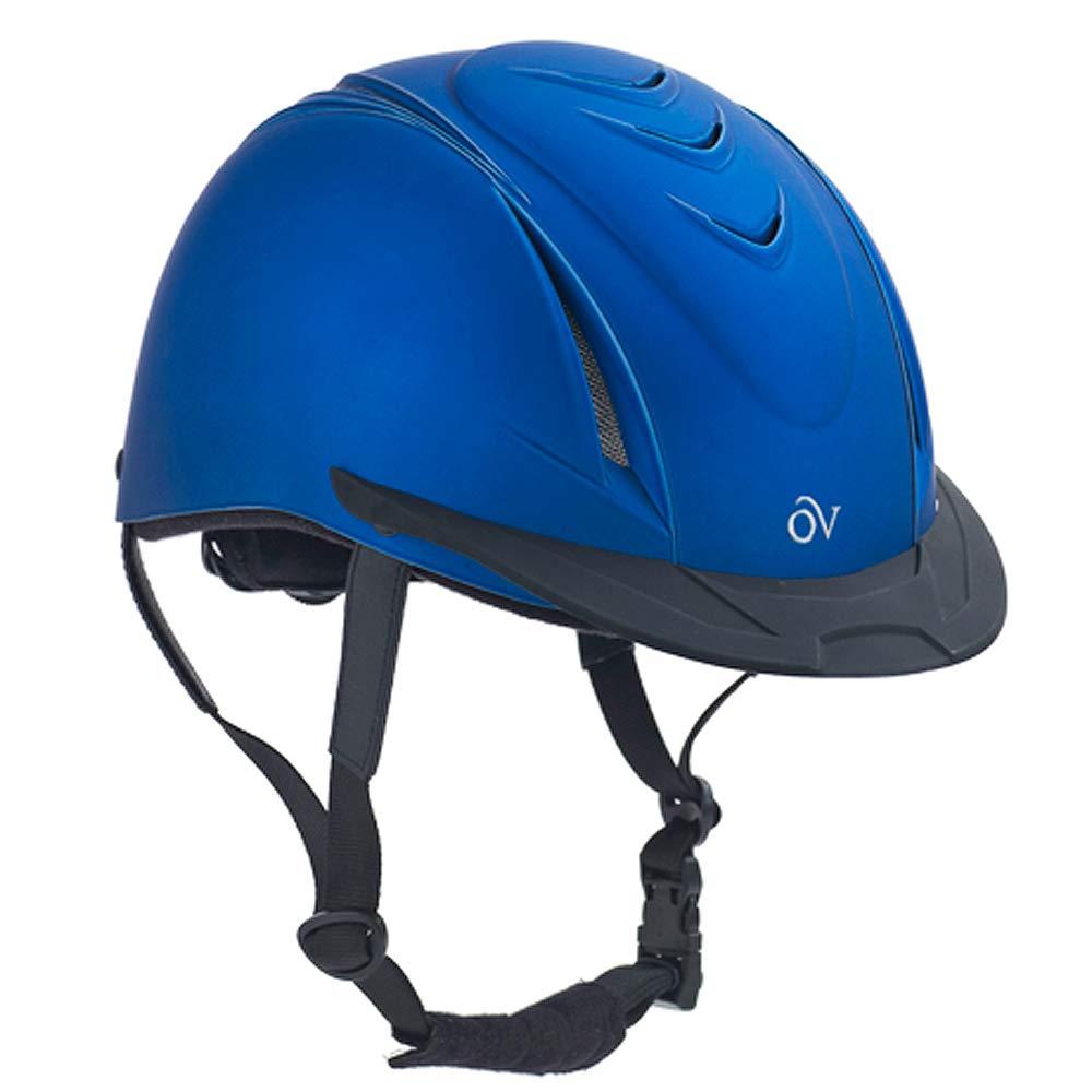 Ovation Kid's Metallic Schooler Equestrian Riding Helmet for Kids