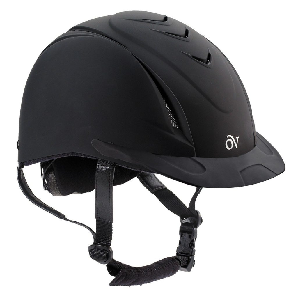 Ovation Deluxe Schooler Equestrian Riding Helmet for Kids