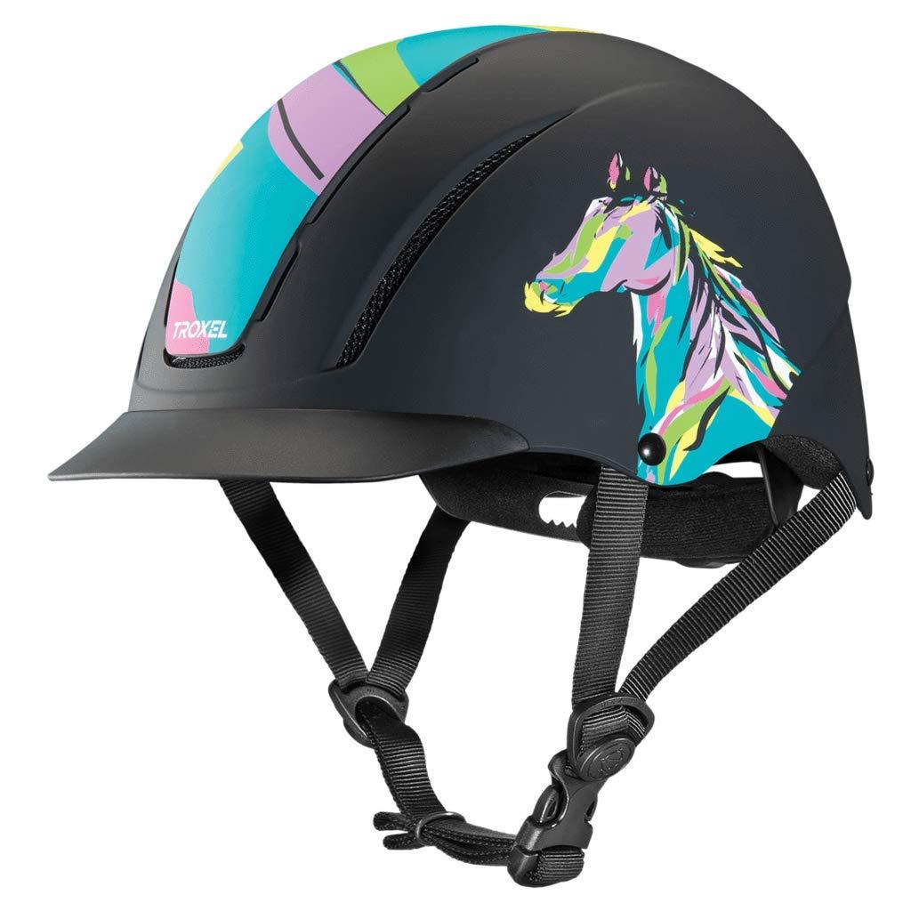 Troxel Pop Art Pony Spirit Equestrian Riding Helmet for Kids
