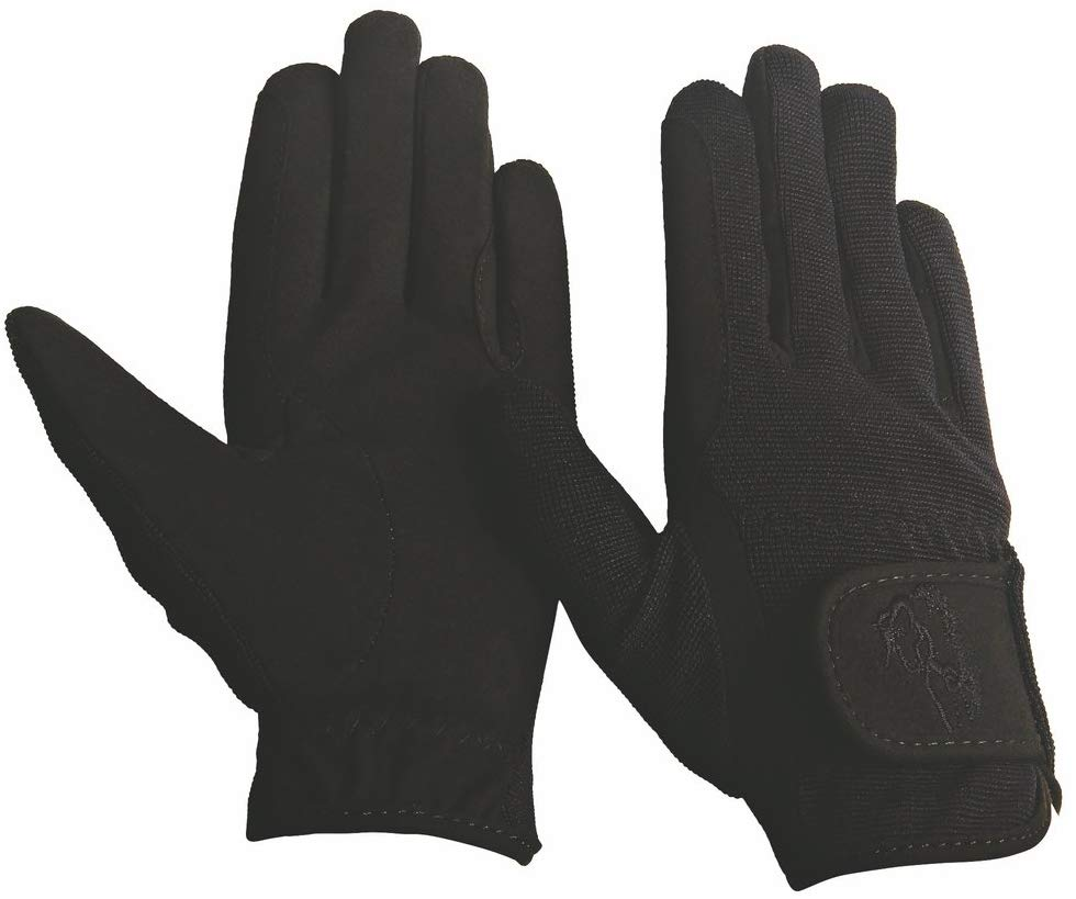 TuffRider Performance Horse Riding Gloves for Kids