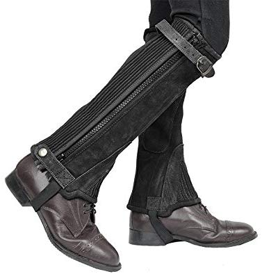Derby Originals Adult & Kids Suede Leather Half Chaps