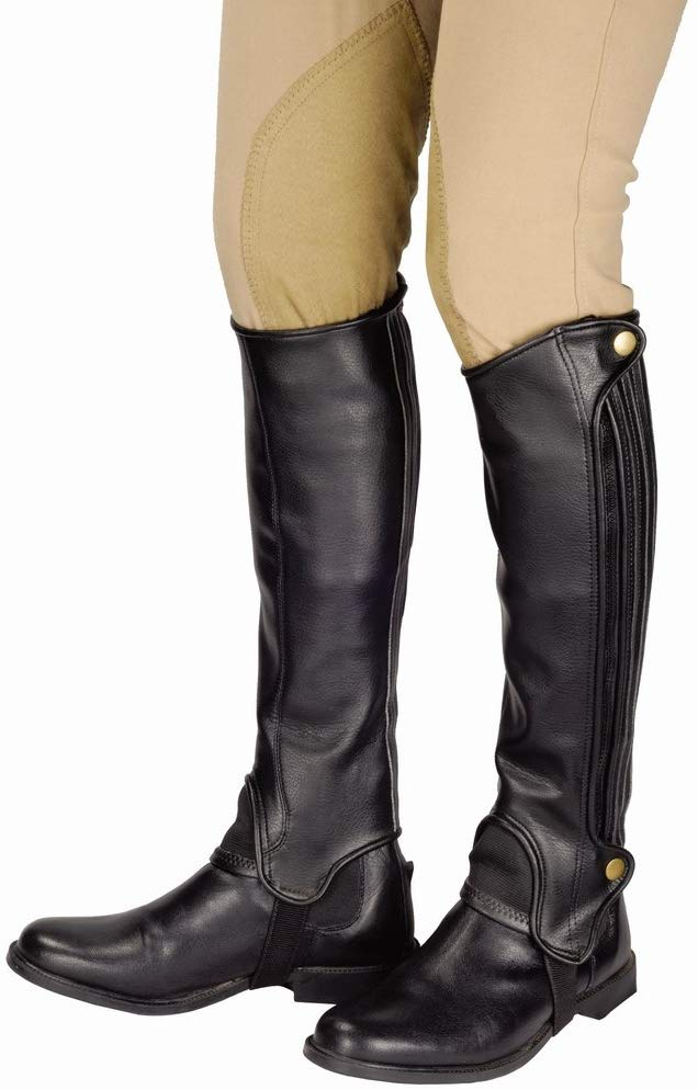 TuffRider Grippy Grain Half Chaps for Women