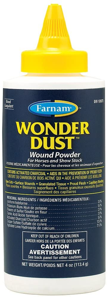 Farnam Wound Care Wonder Dust Equine First Aid Products