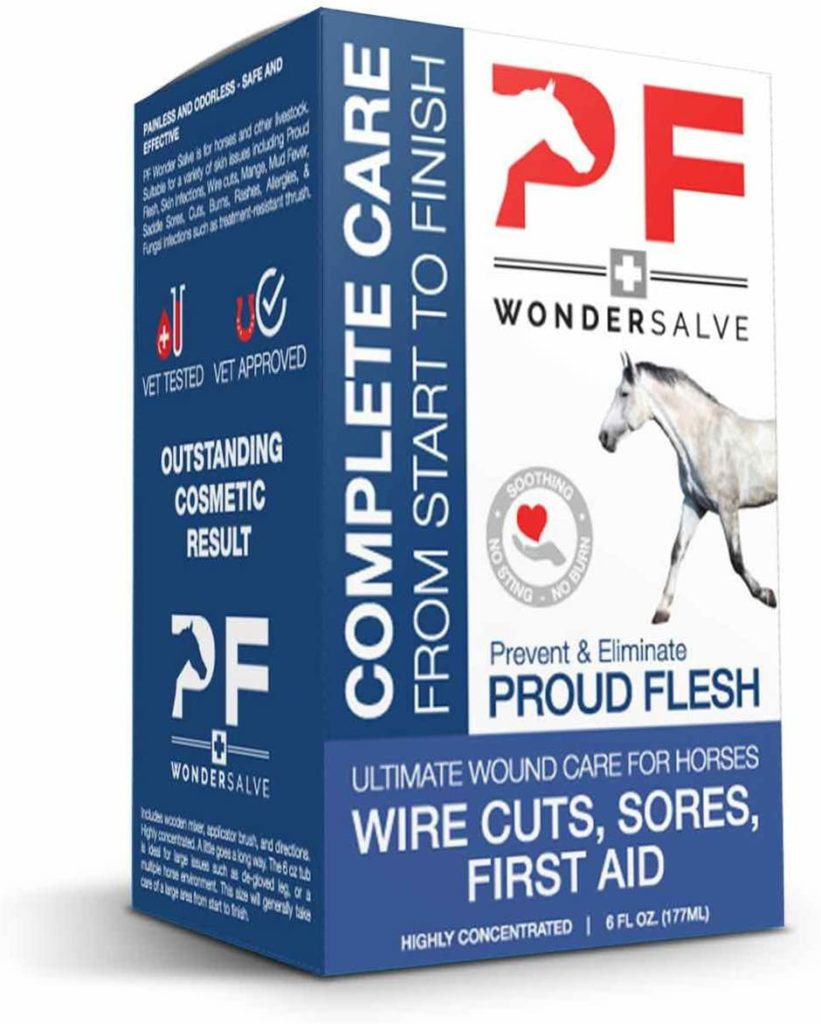PF Wonder Salve Equine Wound Paste - First Aid Products